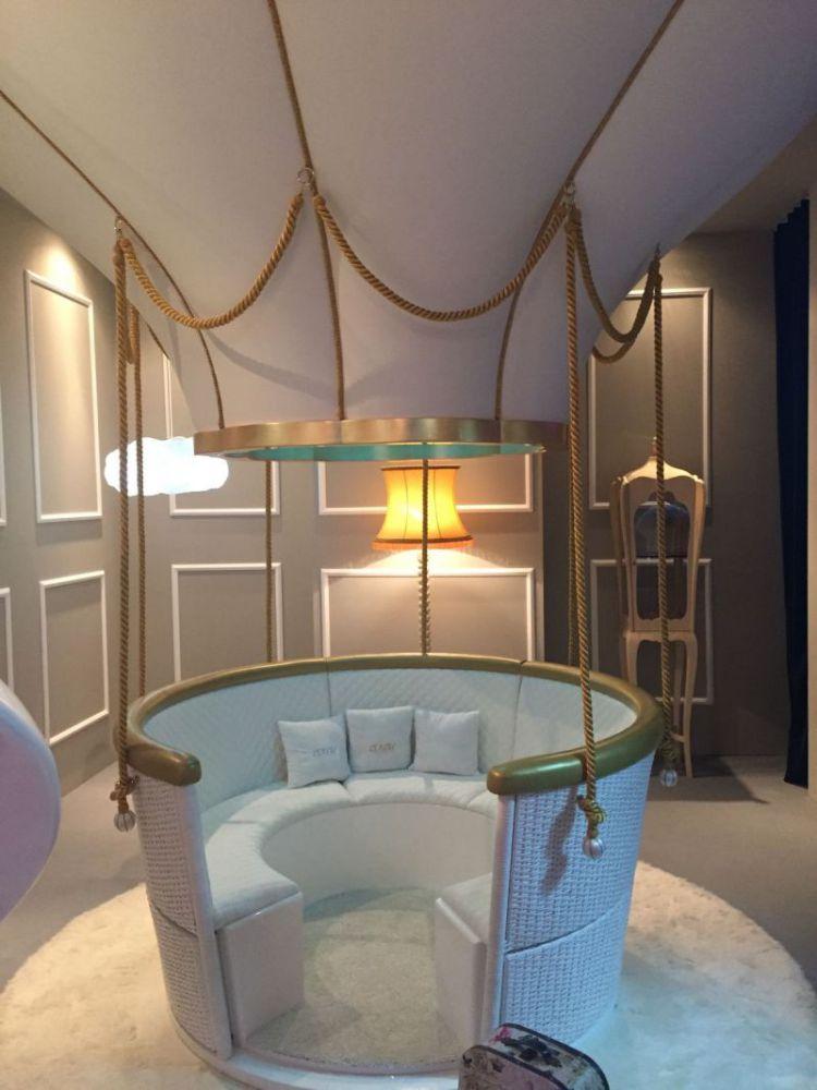 ideas para decorar el dormitorio de los niños  Mejores Ideas Para Decorar El Dormitorio de Los Niños Fantasy air ballon from circu