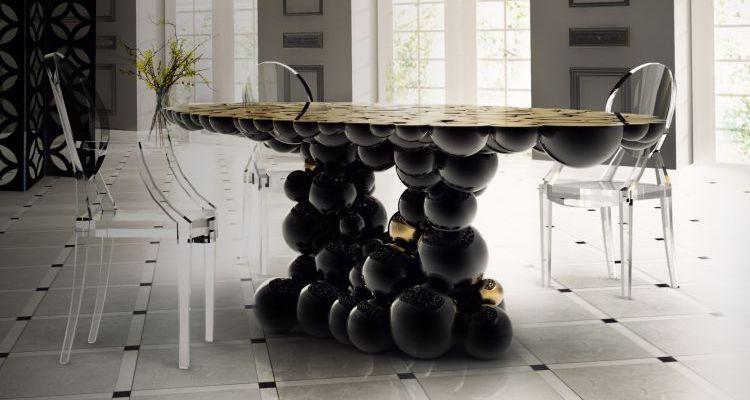 Ideas Para Decorar El Comedor  Ideas Para Decorar El Comedor Con Preciosos Colores Tropicales NEWTON Dining Table Boca do Lobo 73384 rel22b0dce7