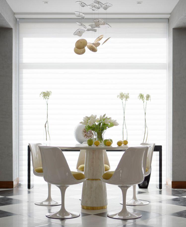 Color Para el Año 2017 El Color Para el Año 2017 por el Instituto Panteone: Greenery agra white marble round dining table 6 detail
