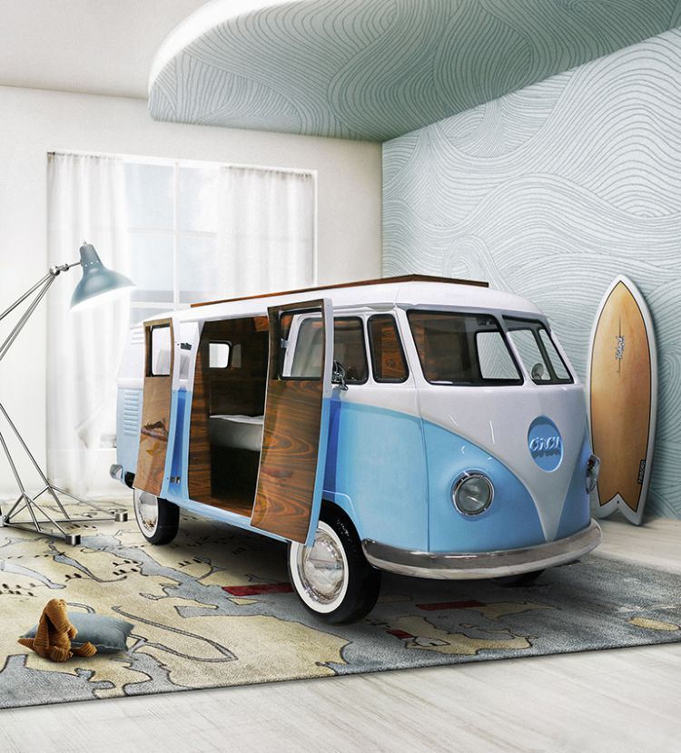 ideas para decorar el dormitorio de los niños  Mejores Ideas Para Decorar El Dormitorio de Los Niños bun van ambience circu magical furniture 01