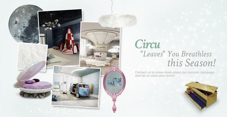 ideas para decorar el dormitorio de los niños  Mejores Ideas Para Decorar El Dormitorio de Los Niños circu magical furniture autumn campaign