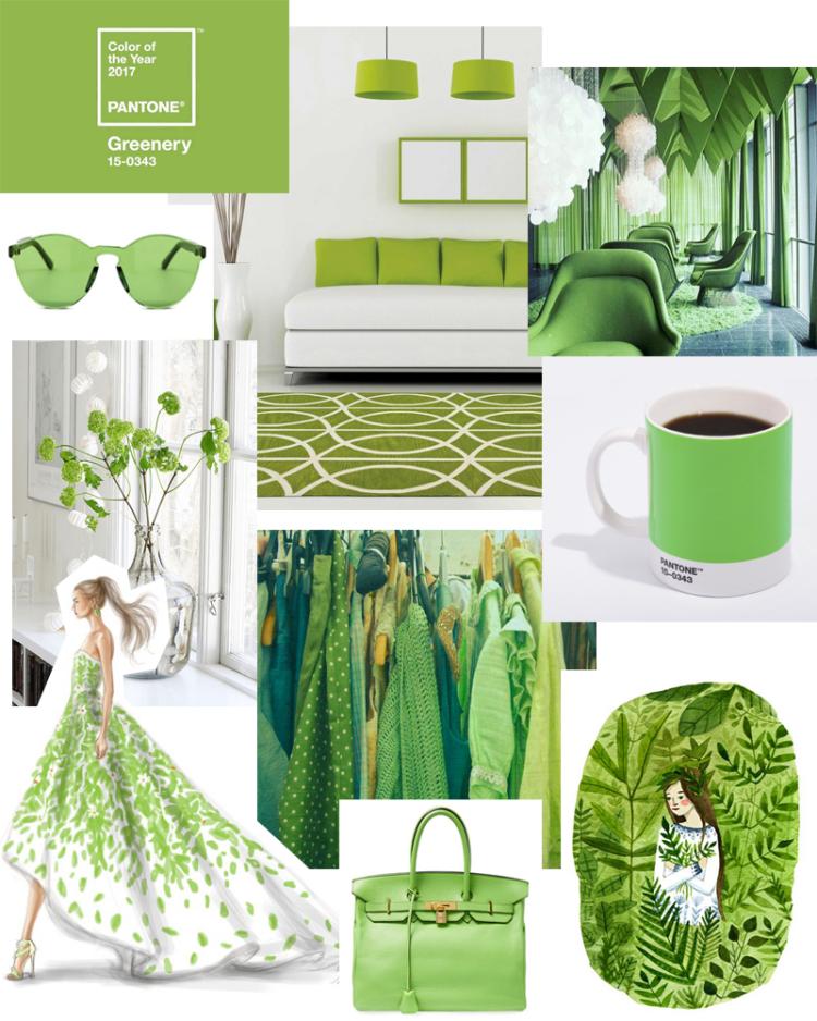 Color Para el Año 2017 El Color Para el Año 2017 por el Instituto Panteone: Greenery color greenery tendencias