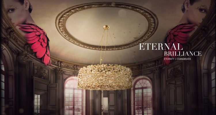 Colección de Iluminación de KOKET  ¡Descubra el Lujo en la Colección de Iluminación de KOKET! eternity chandelier