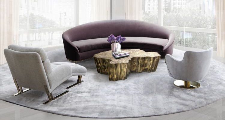 Tendencias Para la Primavera 2017  Mobiliario Contemporáneo y Tendencias Para la Primavera 2017 gia chandelier vamp sofa koket projects1