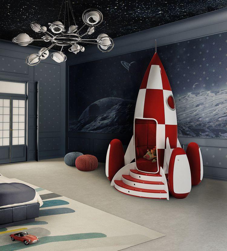 ideas para decorar el dormitorio de los niñosideas para decorar el dormitorio de los niños  Mejores Ideas Para Decorar El Dormitorio de Los Niños rocky rocket ambience circu magical furniture 01