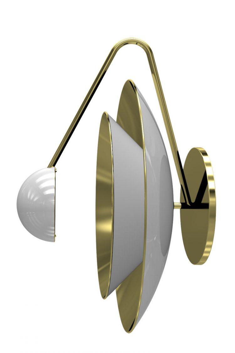 maison et objet 2017  Hermosa Colección de Lámparas de DelightFULL en Maison et Objet 2017 Basie wall lamp render 2 e1484759319254
