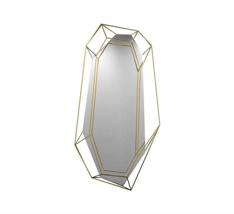 maison et objet 2017 El Estilo Essential Home Llega a Maison et Objet 2017 diamond mirror 01 zoom