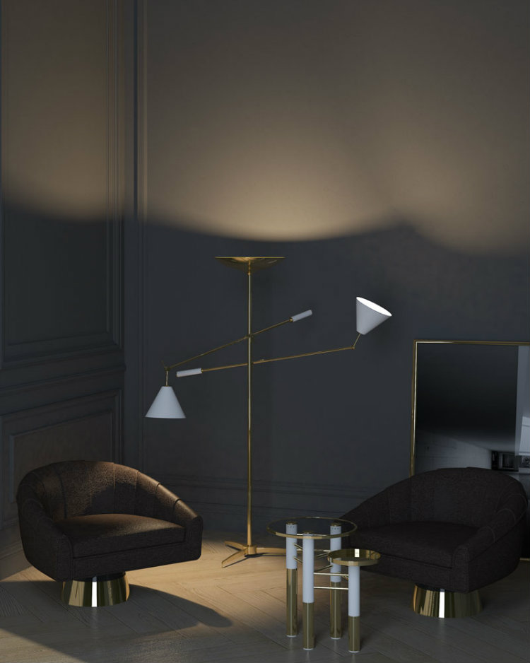 maison et objet 2017 Hermosa Colección de Lámparas de DelightFULL en Maison et Objet 2017 sinatra floor lamp