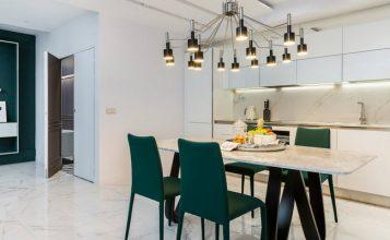 Asombroso Apartamento Moderno  Deléitese Con Este Asombroso Apartamento Moderno en París DinningRoom 11 357x220