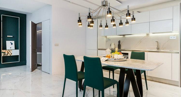 Asombroso Apartamento Moderno  Deléitese Con Este Asombroso Apartamento Moderno en París DinningRoom 11