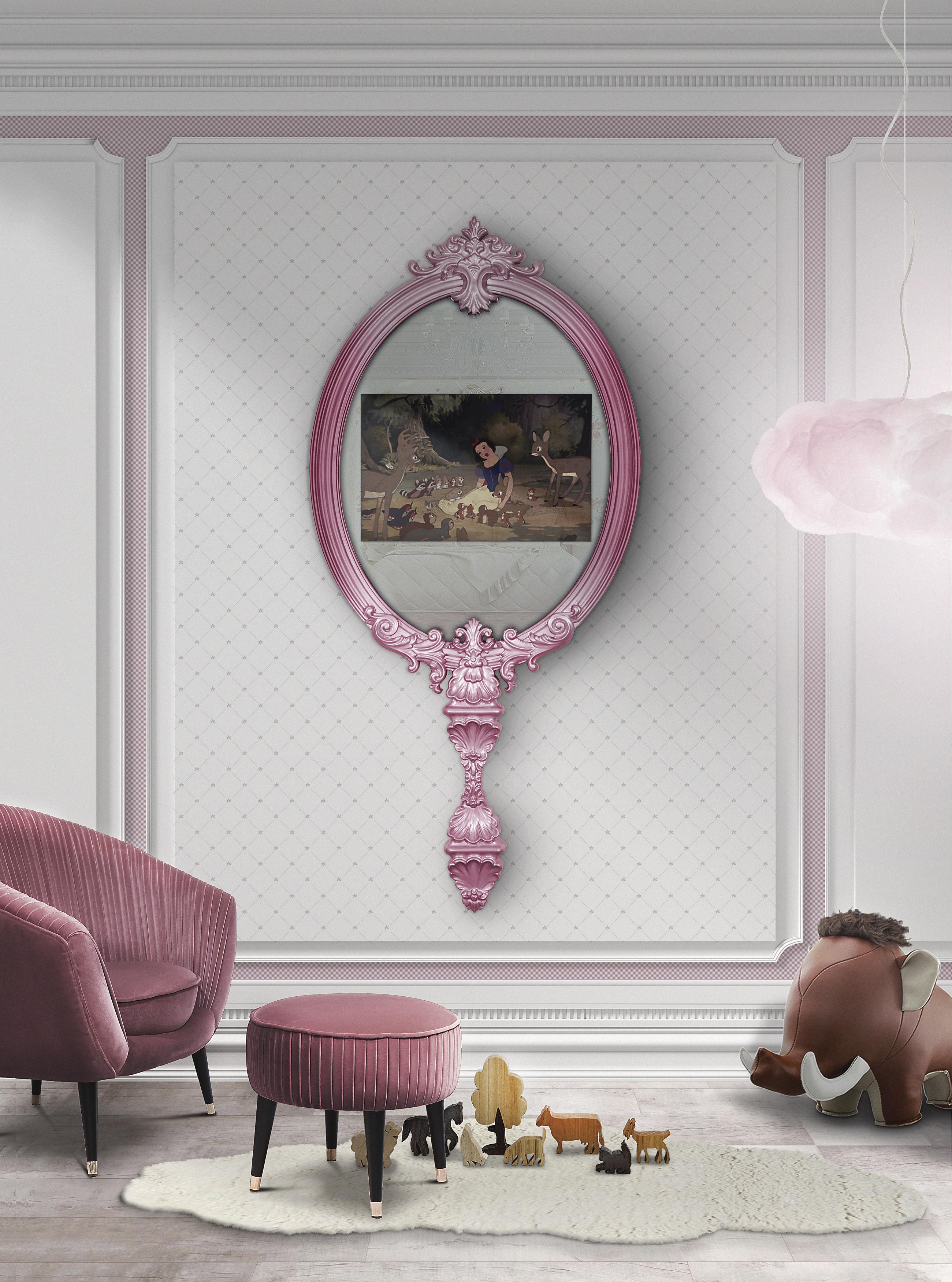 Ideas Innovadoras para Decorar el Dormitorio de los Niños magical mirror ambiente front 1
