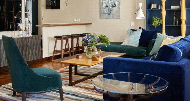 Apartamento moderno y colorido  Pájaros – Impresionante Proyecto de Apartamento Moderno Y Colorido capa