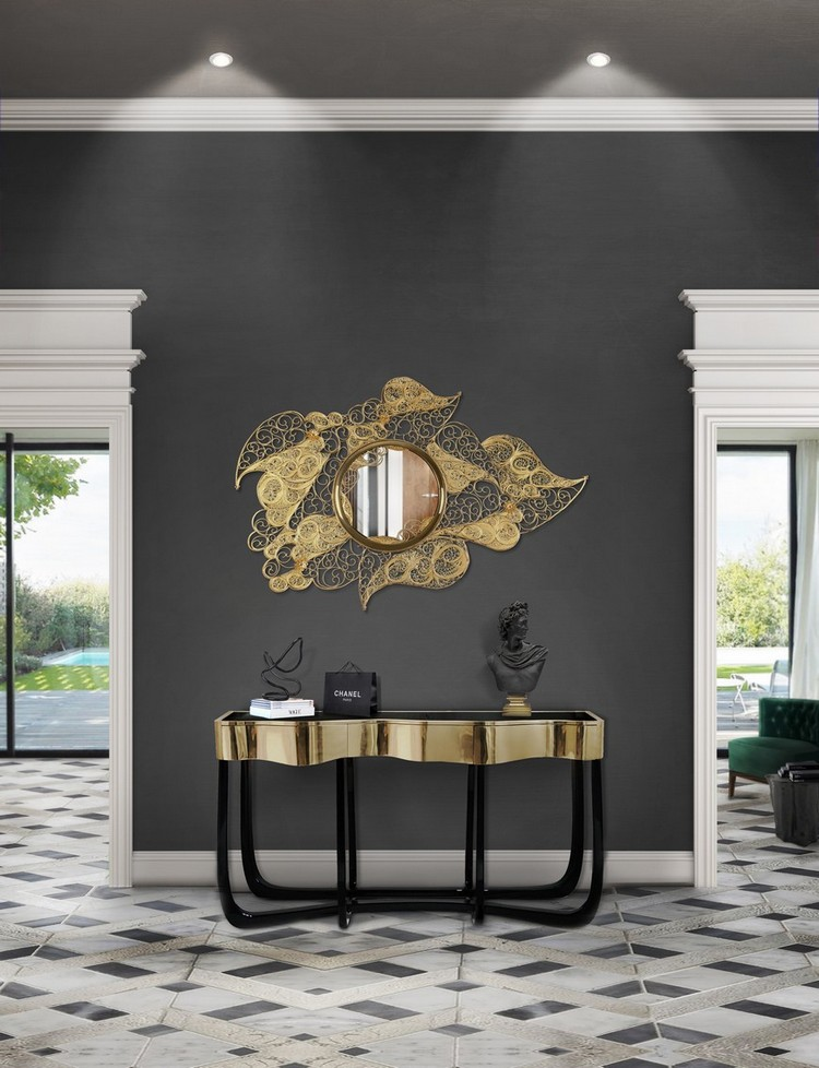 Preciosa Selección de Espejos Elegantes  Encántese Con Esta Preciosa Selección de Espejos Elegantes BL Hall mar17 3