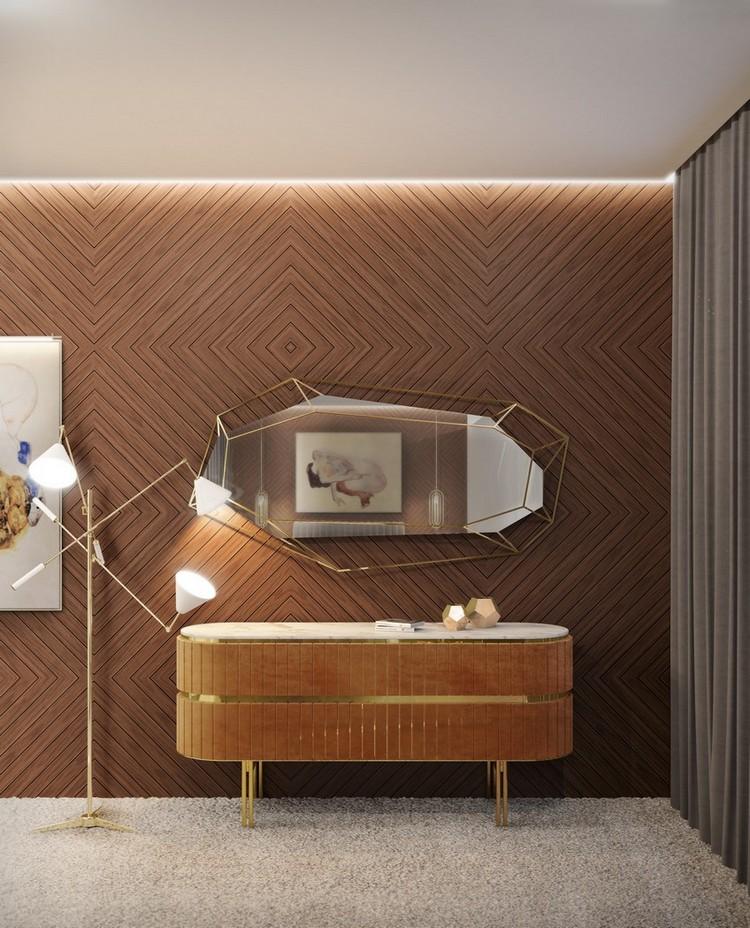 espejos modernos y de lujo1  Encántese Con Esta Preciosa Selección de Espejos Elegantes EH Bedroom 5 1