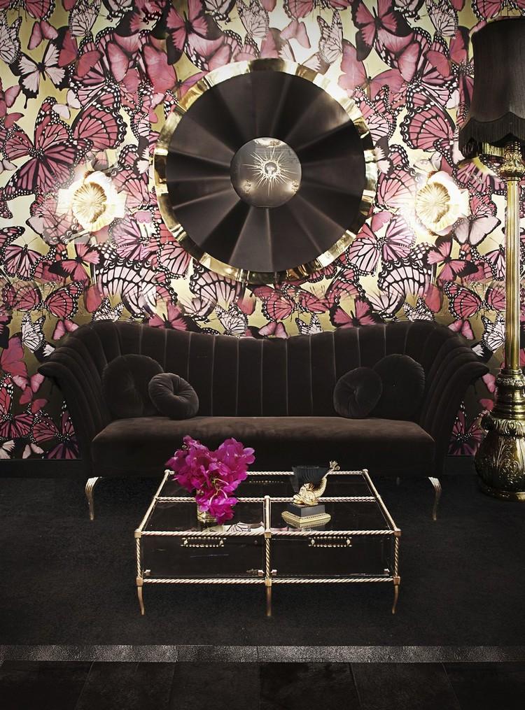espejos modernos y de lujo (18)  Encántese Con Esta Preciosa Selección de Espejos Elegantes KK Living Room 20 1 1