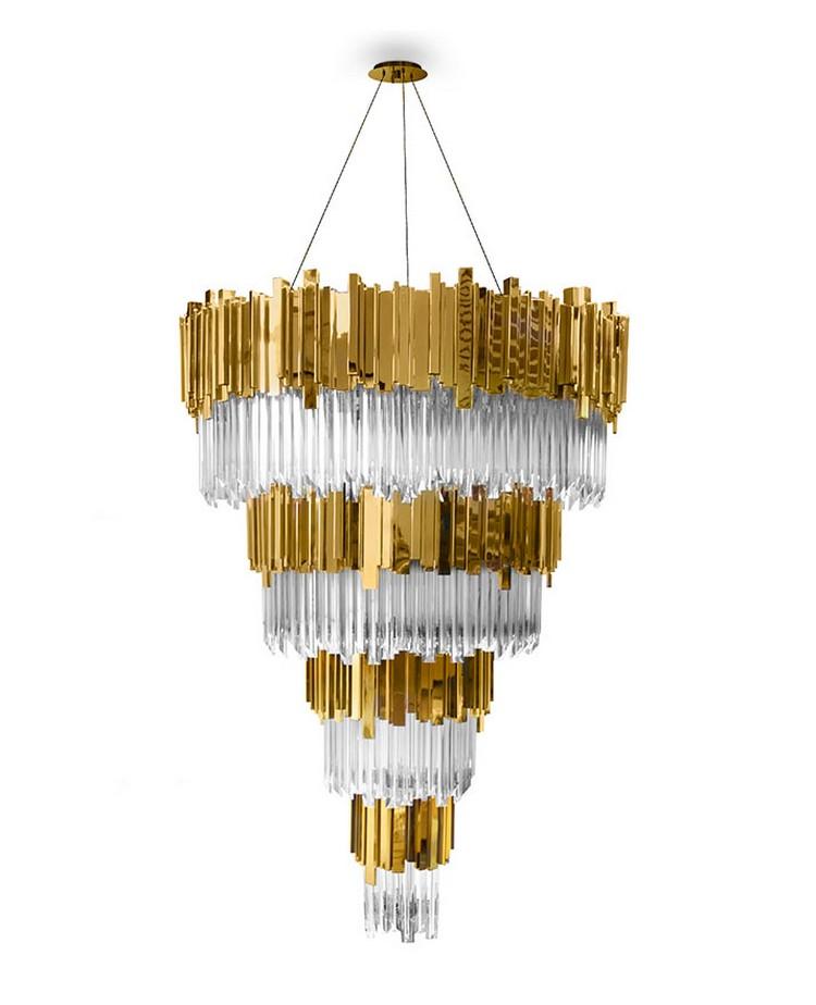últimas tendencias en iluminación  Conozca las Novedades y las Últimas Tendencias en Iluminación empire chandelier detail 01