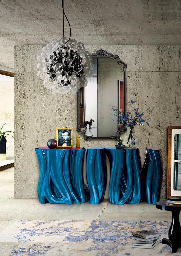espejos modernos y de lujo (13)  Encántese Con Esta Preciosa Selección de Espejos Elegantes espejos modernos y de lujo 13
