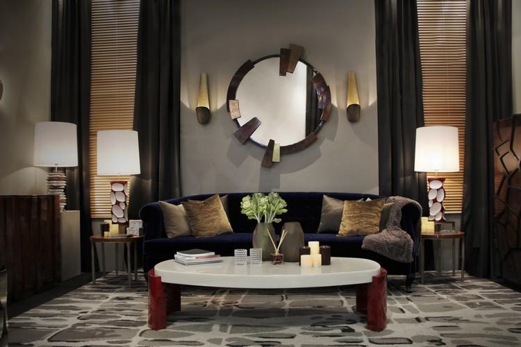 espejos modernos y de lujo (24)  Encántese Con Esta Preciosa Selección de Espejos Elegantes espejos modernos y de lujo 24