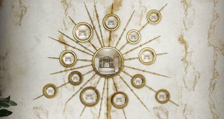 espejos modernos y de lujo1  Encántese Con Esta Preciosa Selección de Espejos Elegantes espejos modernos y de lujo1
