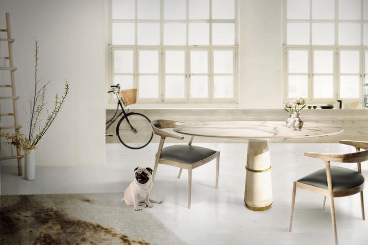 Las 60 Sillas Más Modernas y Elegantes Para su Casa - Ebook BB Dining Room 1