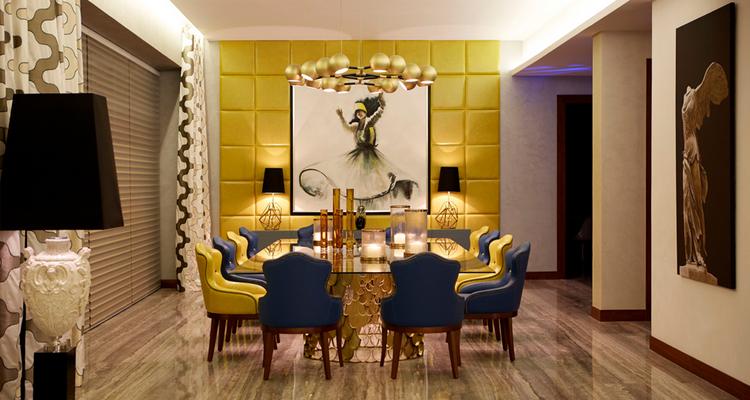 Las 60 Sillas Más Modernas y Elegantes Para su Casa - Ebook BB Dining Room 5