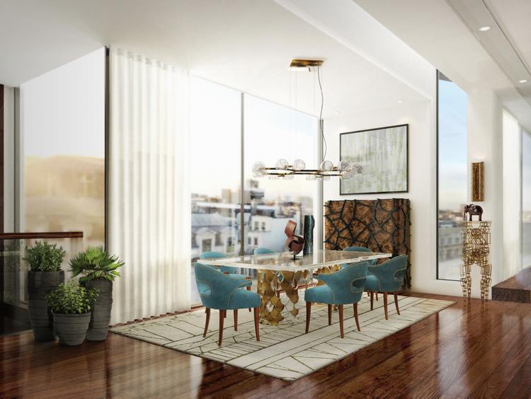 Las 60 Sillas Más Modernas y Elegantes Para su Casa - Ebook BB Dining Room 6