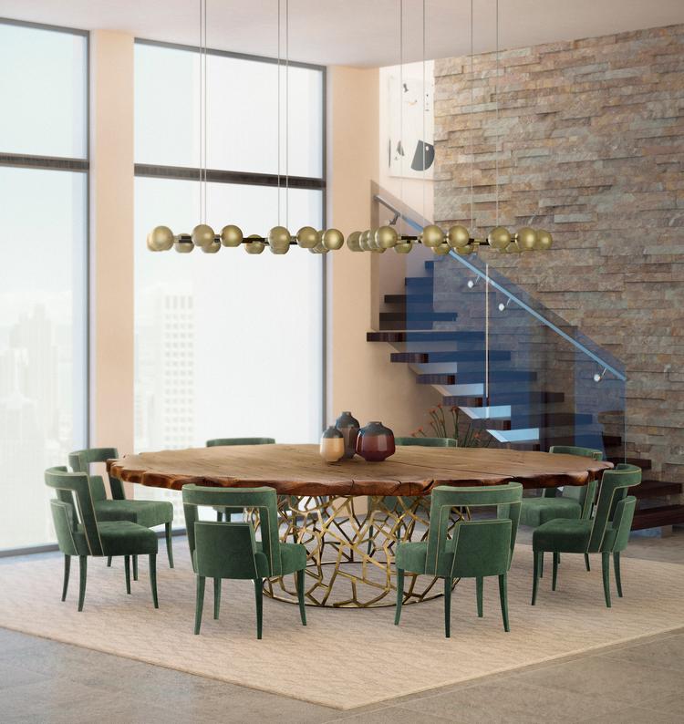 Las 60 Sillas Más Modernas y Elegantes Para su Casa - Ebook BB Dining Room mar17 4