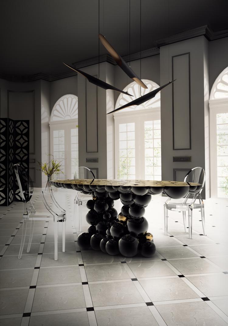 Las 60 Sillas Más Modernas y Elegantes Para su Casa - Ebook BL Dining Room 5