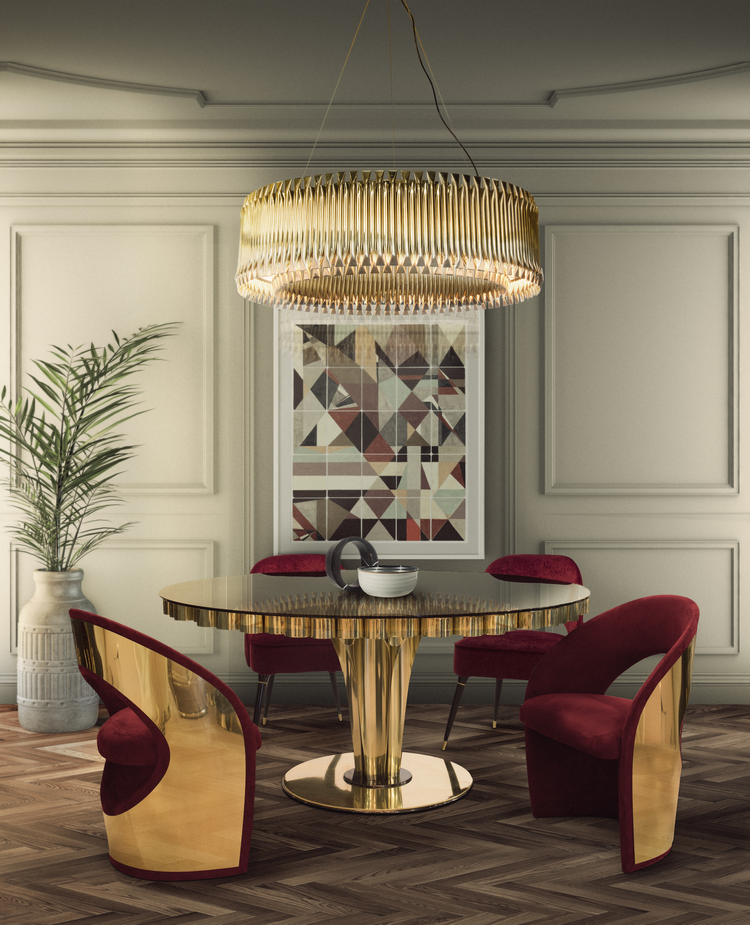 Las 60 Sillas Más Modernas y Elegantes Para su Casa - Ebook EH Dining Room mar17 5