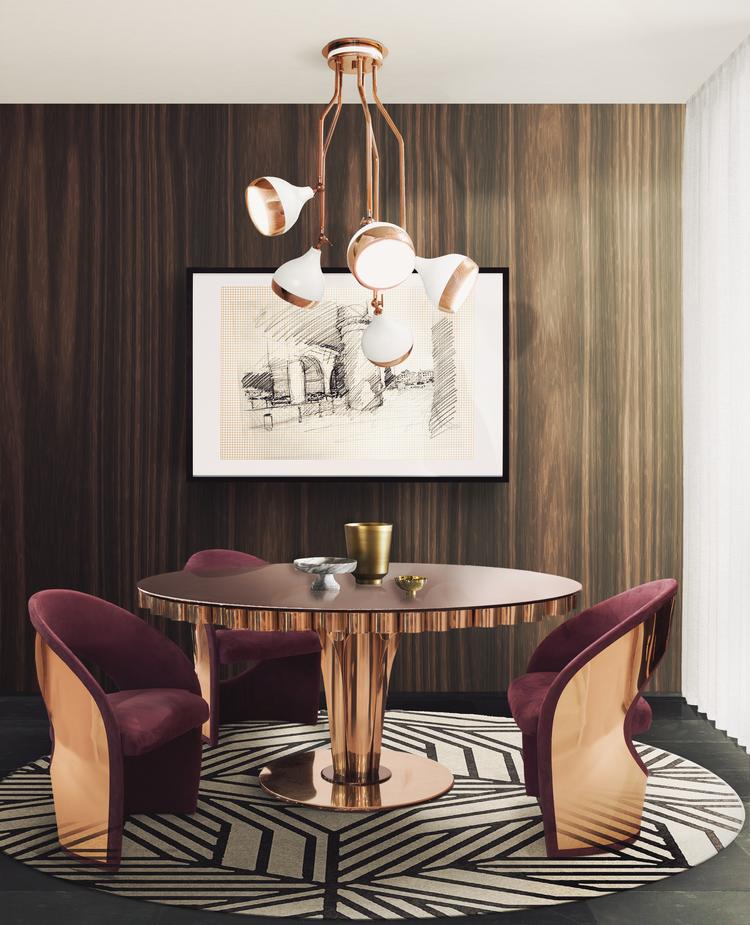 Las 60 Sillas Más Modernas y Elegantes Para su Casa - Ebook EH Dining Room mar17 6