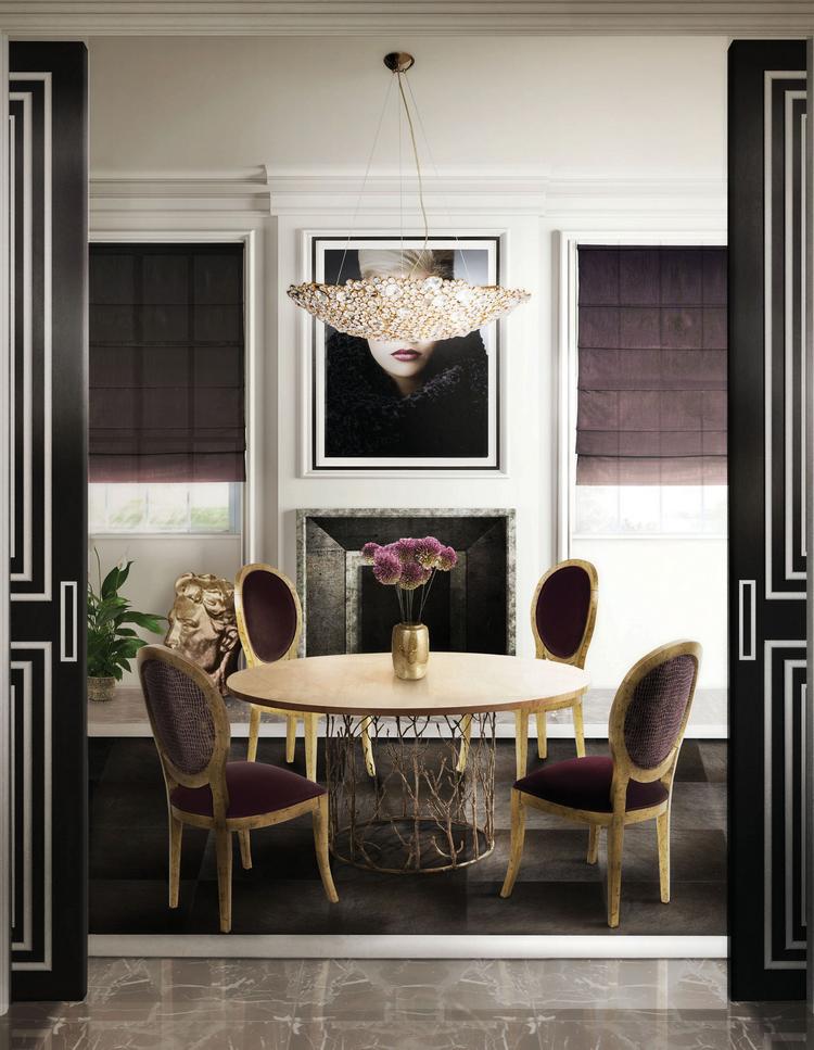 Las 60 Sillas Más Modernas y Elegantes Para su Casa - Ebook KK Dining Room 1