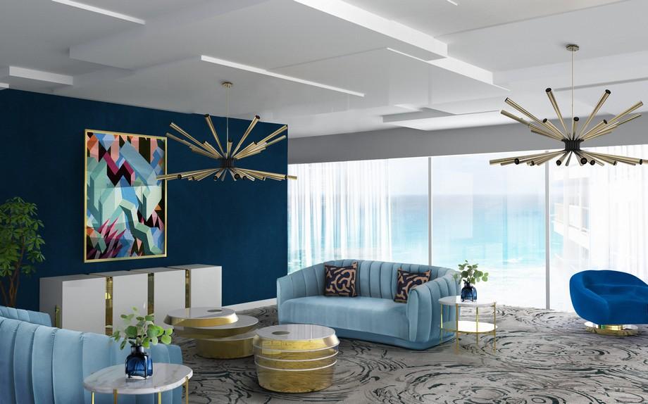 tendencias de dise o de interiores 2018 para la decoraci n de su hogar. Black Bedroom Furniture Sets. Home Design Ideas