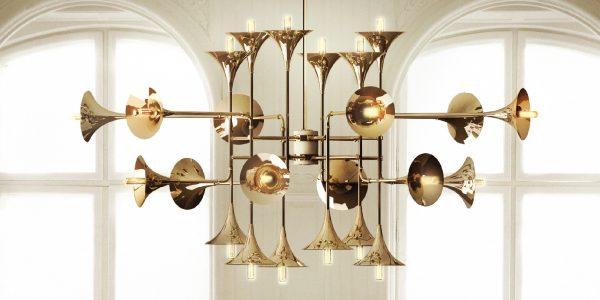 Decoraciones de Navidad: Lámparas de estilo mediados de Siglo