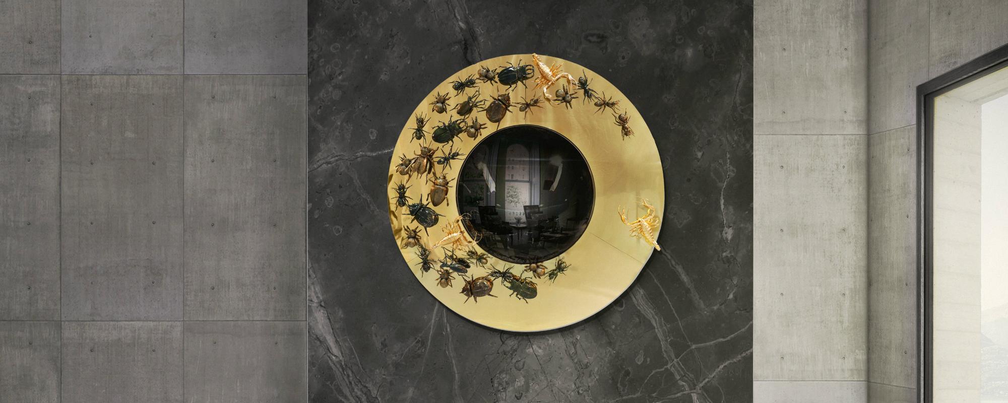 dicas de decoración Dicas de Decoración: 12 Maneras Creativas de Cubrir Paredes Vacias metamorphosis mirror hr 01