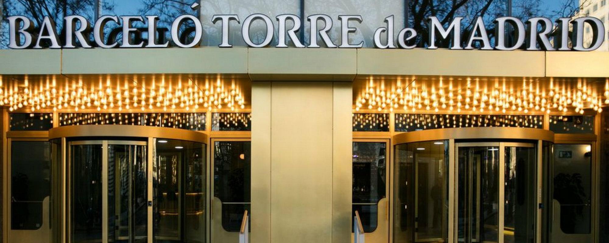 Barcel torre un hotel majestetical en madrid - Hoteles barcelo en madrid ...