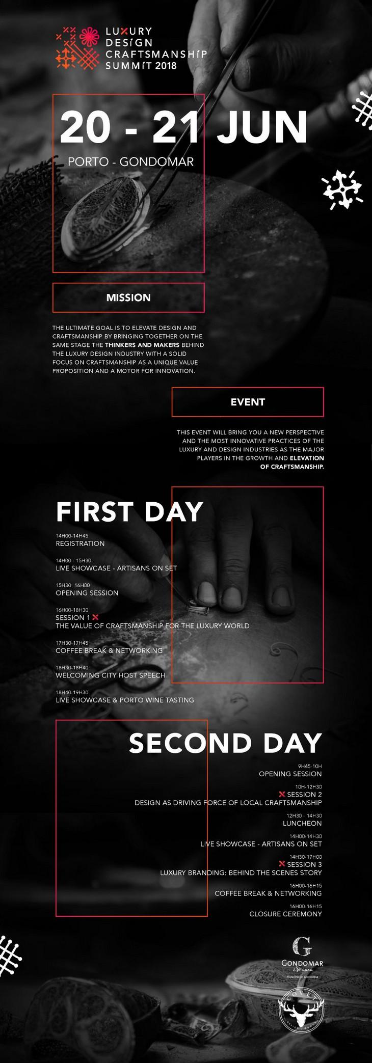 Diseño de Lujo y Artesanía: Un evento que nó puedes perder en 2018 diseño de lujo y artesanía Diseño de Lujo y Artesanía: Un evento que nó puedes perder en 2018 001 summit infographic 001