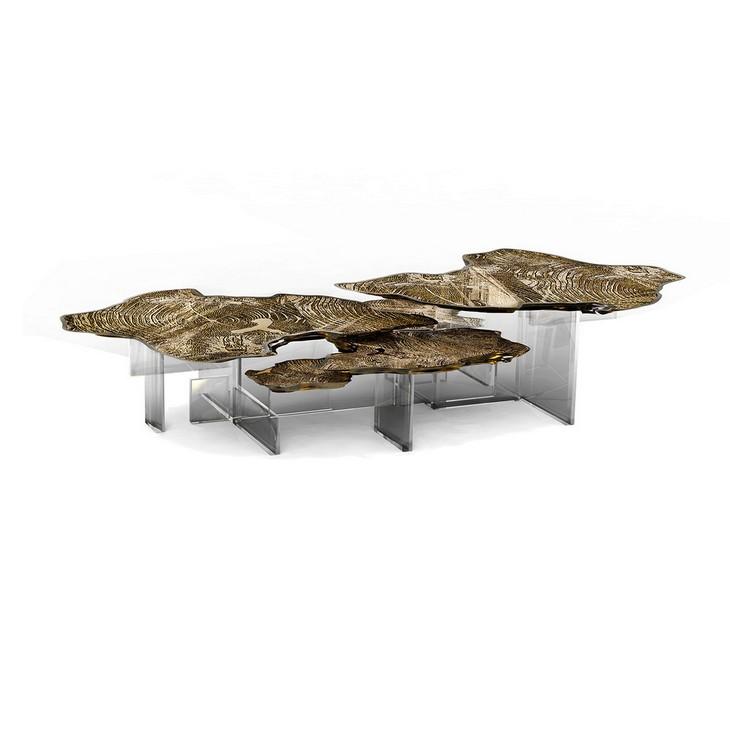 Tendencias para decorar: Una mesa de centro de lujo Tendencias para decorar Tendencias para decorar: Una mesa de centro de lujo 1 7 1