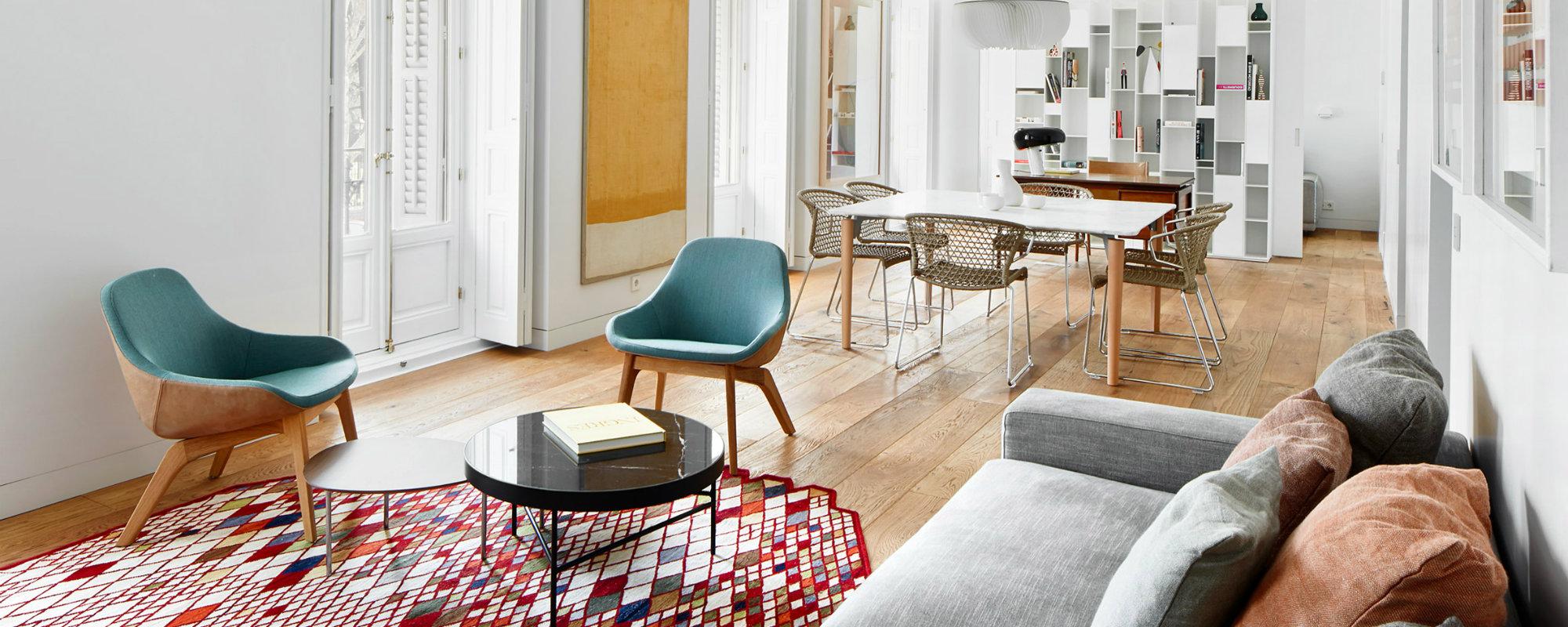 Tendencias para decorar: Apartamento de Lujo en Madrid