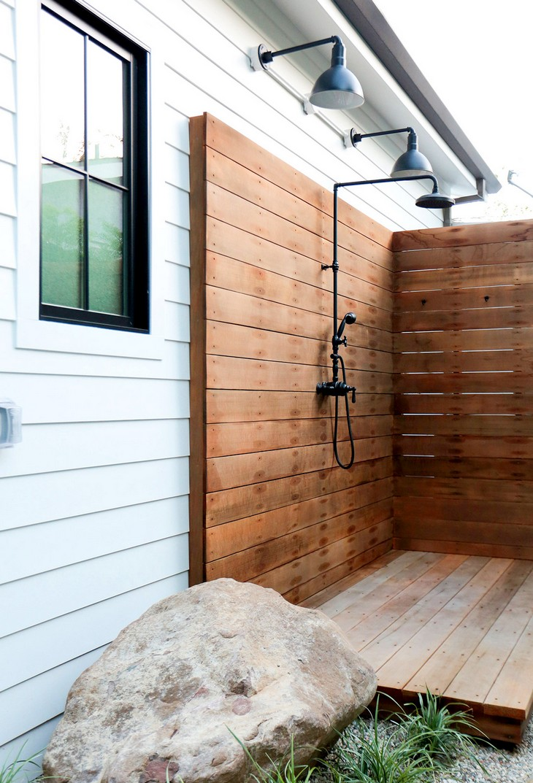 Tendencias para Decorar: Ideas de lujo para cuarto de baño tendencias para decorar Tendencias para Decorar: Ideas de lujo para cuarto de baño Luxury Outdoor Showers To Update Your Backyard 05