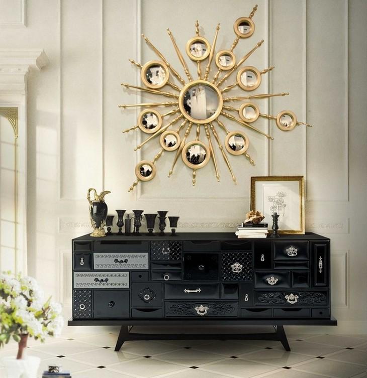 Cinco Ideas de lujo: Aparadores para decorar una Sala Ideas de lujo Cinco Ideas de lujo: Aparadores para decorar una Sala mondrian