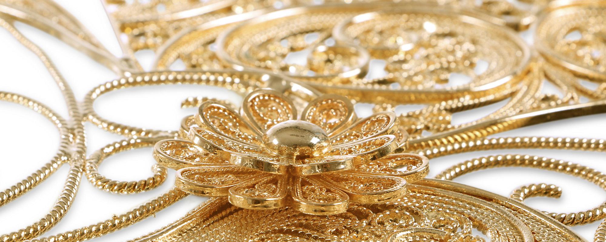 La arte de Filigrés es importante para el mundo del diseño de lujo