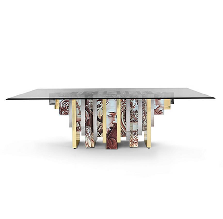 Heritage: una colección para interiorismo de lujo da Boca do Lobo interiorismo de lujo Heritage: una colección para interiorismo de lujo da Boca do Lobo heritage dining table 02