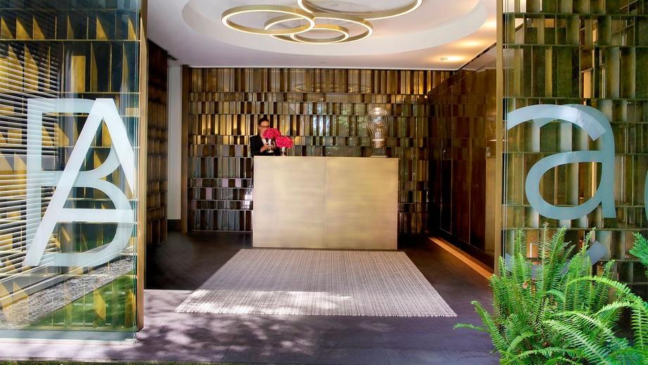 ABaC: Restaurante de Lujo en Barcelona Restaurante de Lujo ABaC: Restaurante de Lujo en Barcelona ABaC HOTEL ENTRADA RECEPCION