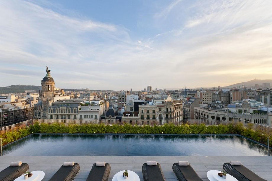Mandarin Oriental Barcelona – Lujoso Hotel lujoso hotel Mandarin Oriental Barcelona – Lujoso Hotel barcelona leisure dipping pool panorama 6