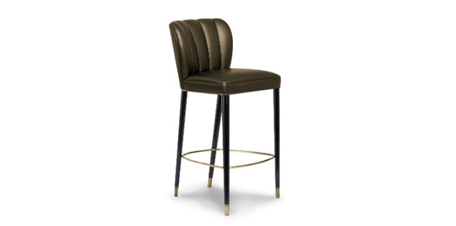 Tendencias de Interiorismo Tendencias de Interiorismo: 10 Sillas de lujo para Cocina dalyan counter stool 2 HR interior design trends