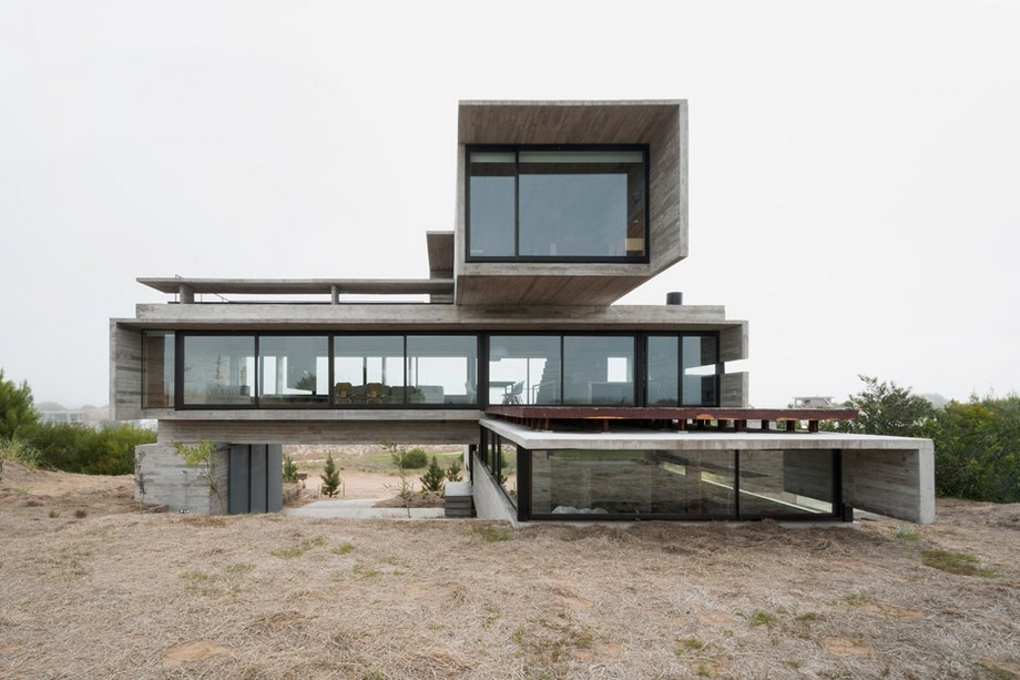 Luciano Kruk: un arquitecto de lujo en Argentina Luciano Kruk: un arquitecto de lujo en Argentina Casa Golf Luciano Kruk Buenos Aires House dezeen 936 1