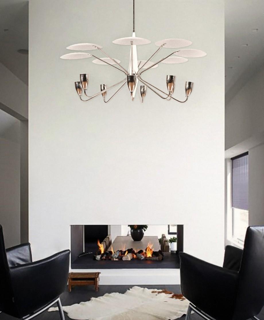Ideas para Decorar: Lámparas de teto blancas para un hogar de lujo Ideas para Decorar: Lámparas de teto blancas para un hogar de lujo How These 5 White Chandeliers Will Turn Your Home Decor Around 4