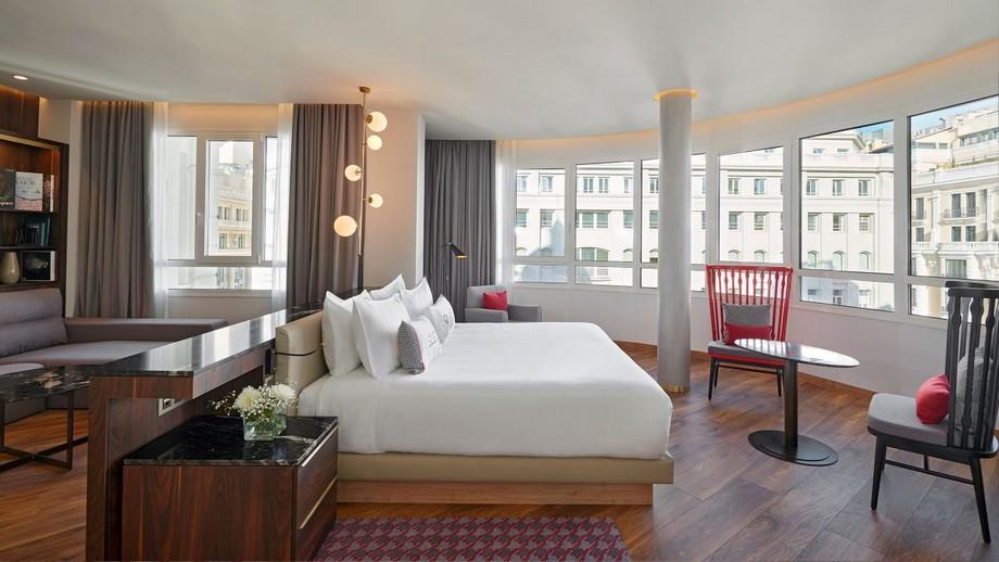 Hotel Hyatt: un lujoso hotel en centro de Madrid Hotel Hyatt: un lujoso hotel en centro de Madrid Hyatt Centric Gran Via Madrid P017 Executive Suite Window