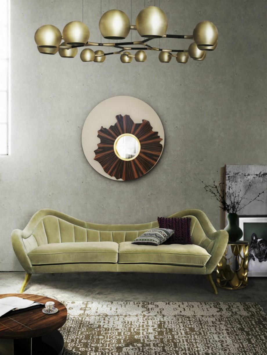 Ideas para Decorar: Espejos de lujo para poneres en una habitación ideas para decorar Ideas para Decorar: Espejos de lujo para poneres en una habitación Iris mirror