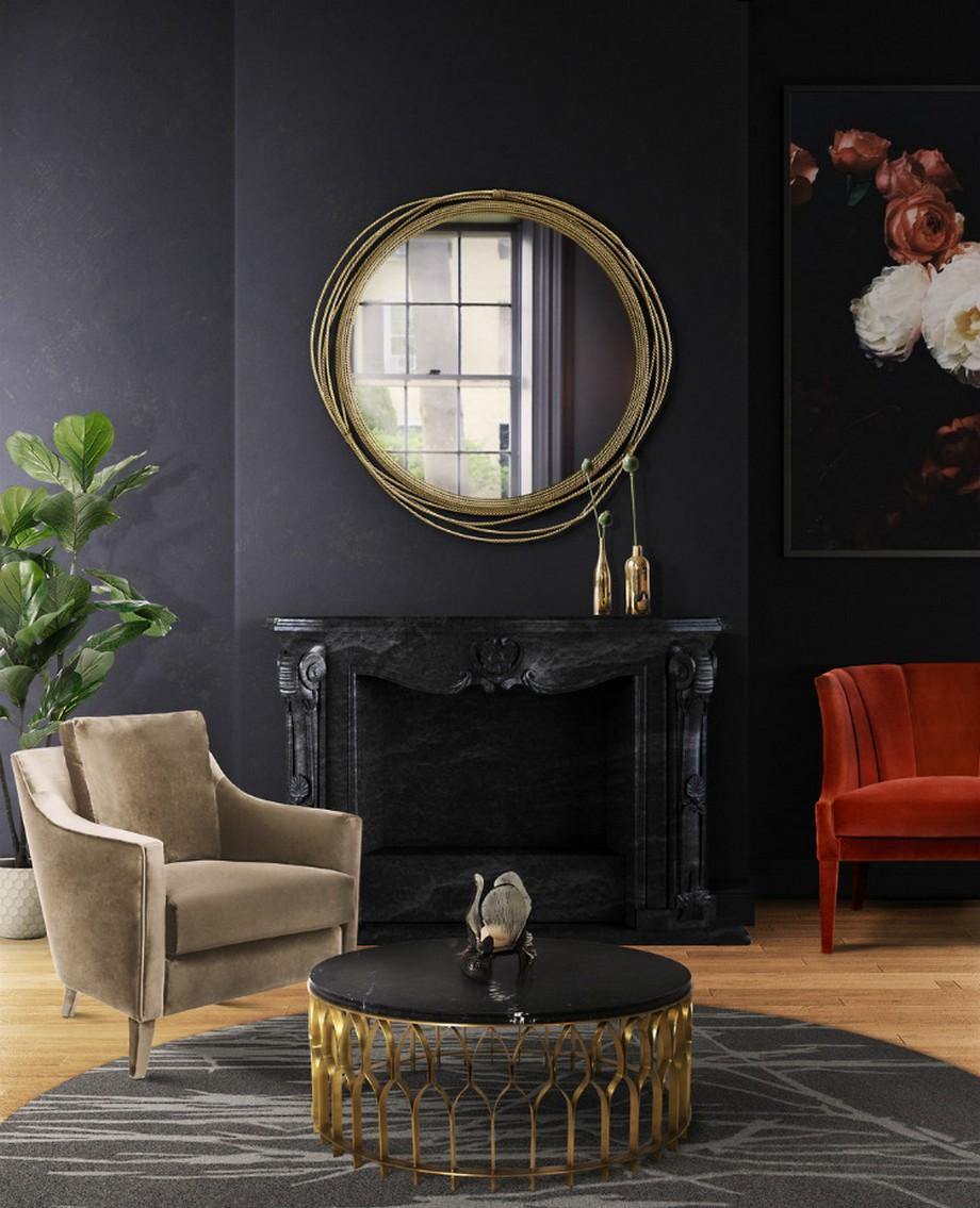 Ideas para Decorar: Espejos de lujo para poneres en una habitación ideas para decorar Ideas para Decorar: Espejos de lujo para poneres en una habitación Kayan Mirror 1
